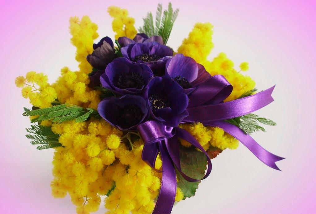 Unique bouquet for beautiful Russian brides