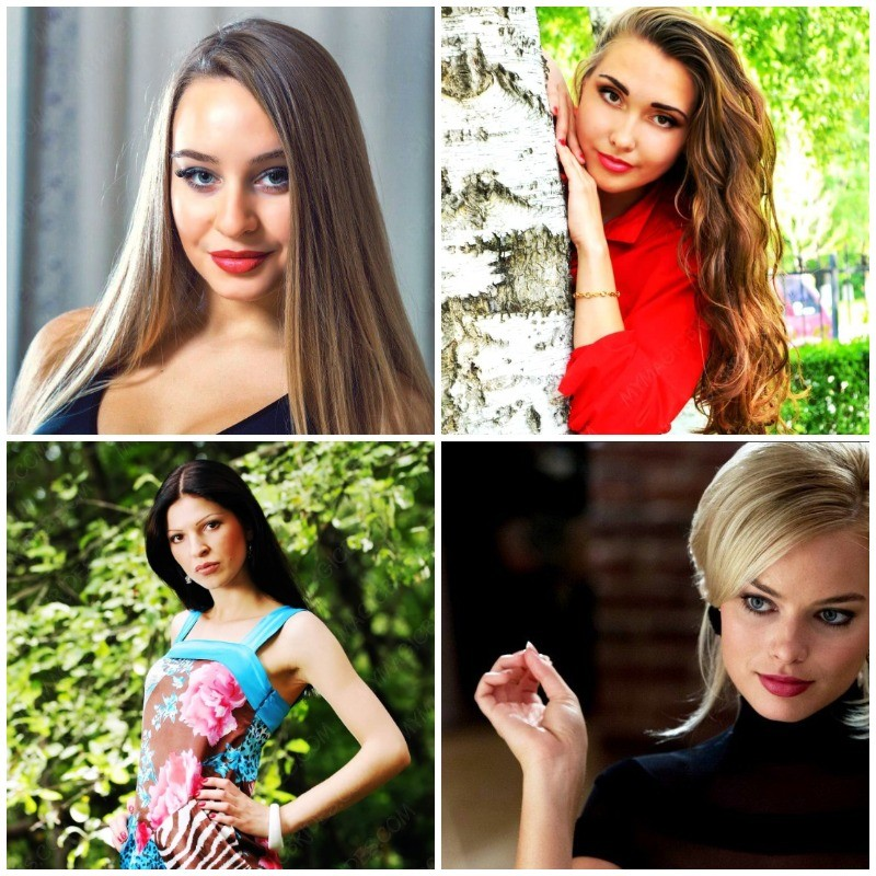 Photos of attractive Russian women